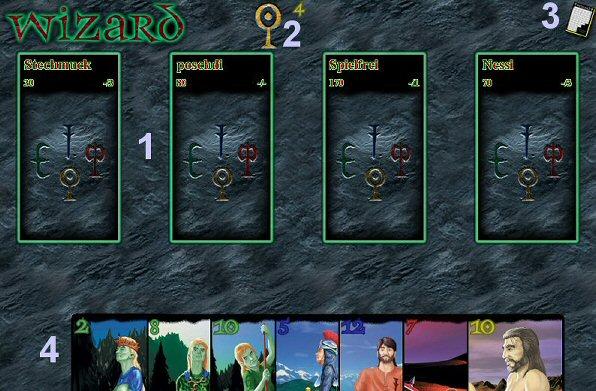 Wizard Spiel Online